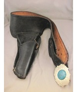 "Nice Looking Black Leather Gun Holster 50""  - $15.00"
