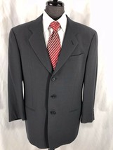 Armani Collezioni Men's Gray Blazer Wool Silk Blend Blazer Jacket Sport ... - $79.99