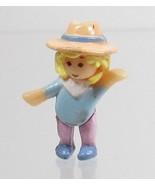 1994 Vintage Polly Pocket Doll Happy Horses - Polly Bluebird Toys - $7.50