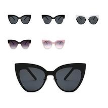 New Women Sunglasses Cat Eye Oversize Shade Vintage Fashion Ladies Sungl... - $20.91