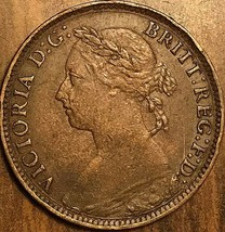 1888 GREAT BRITAIN FARTHING COIN - $8.99