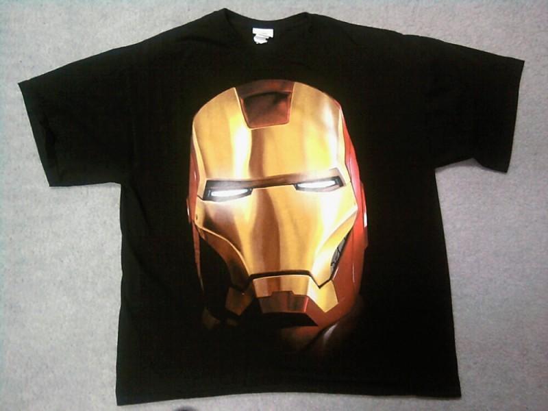 Iron Man Avengers Tee T-shirt Men's XL