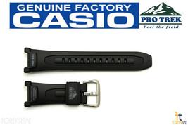 CASIO Pro Trek Pathfinder PRG-240 Original Black Rubber Watch BAND Strap... - $28.95