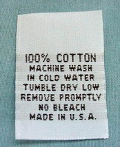 100pcs WOVEN NON-FRAYING CLOTHING SEWING LABELS... - $7.53