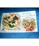 Bon Appetit Tastes of the World Cookbook - $4.00