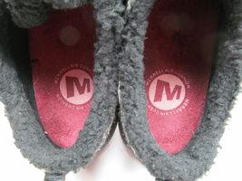 MERRELL Performance Women's Black Suede & Faux Fur Walking Shoes 9 M image 7