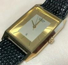 Vintage Citizen 6031 Men Hot Style Rectangle Analog Quartz Watch Hour~Ne... - $33.24