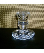 """Waterford Signed Candle Stick Holder 6 3/8"""" - $13.86"""