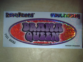 Drama Queen Socially Hazardous Skateboard/Computer/Bumper Sticker Post C... - $0.10