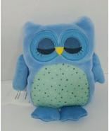 Owl Friend Microwaveable Plush Heat-able Lavender aromatherapy blue comf... - $16.03