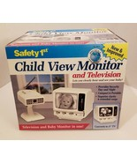 "VTG Deadstock Safety 1st Child View Baby Monitor 5"" Television NEW IN BO... - $213.84"
