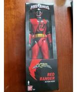 "2018 Bandai Power Rangers Super Ninja Steel Red Ranger 12"" Action Figure... - $14.80"