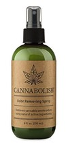 Cannabolish Smoke Odor Eliminator Spray and Air Freshener, 8 fl. oz, Natural Ing