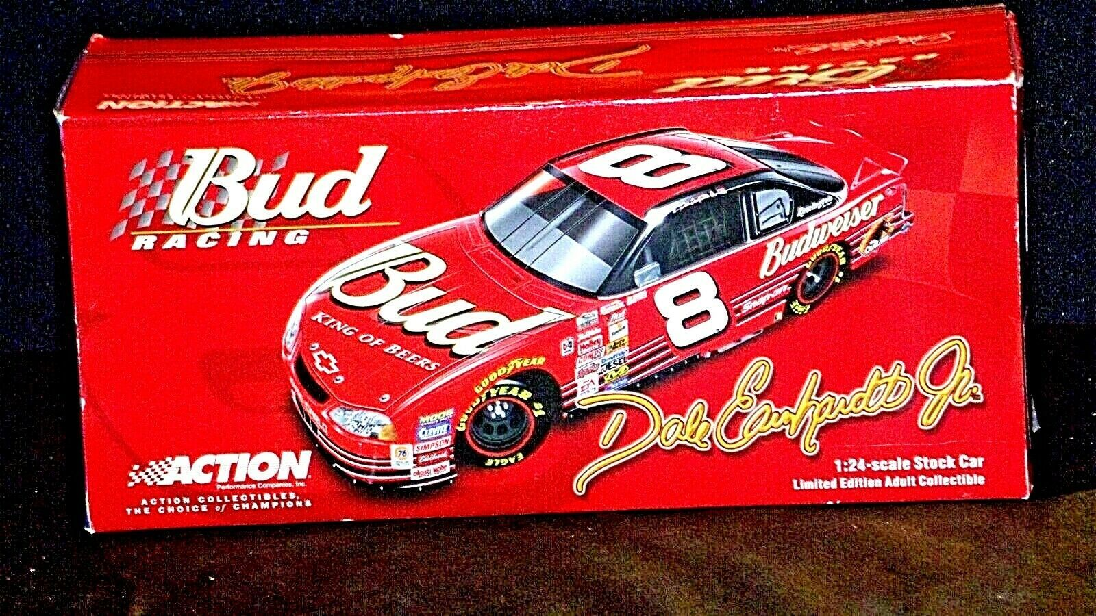 Bud Racing Dale Earnhardt Jr. #8 1:24 scale stock cars Limited Edition