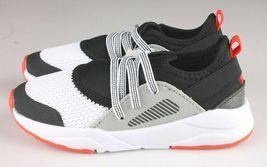 Cat & Jack Boys Toddler Black Mesh Red Keenan Slip-On Sneakers NWT image 5