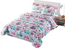 MarCielo 3 Piece Kids Bedspread Quilts Set Throw Blanket For Teens Boys ... - $100.56