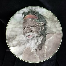 Rare 50s Royal Doulton Collectible Display Plate Australian Aborigine D6422 - $149.99