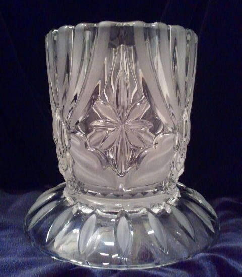 Primary image for Cut Glass Votive Candle Holder