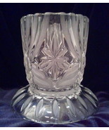 Cut Glass Votive Candle Holder - $16.50