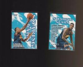 1997-98 Fleer Soaring Stars #17SS Latrell Sprewell Golden State Warriors - $1.42