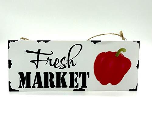 Farmhouse Fresh Market Wall Hanger