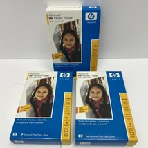 3 Boxes HP Advanced Glossy Inkjet Photo Paper #100, 4x6, 10.5 mil, Q7906A - $19.99