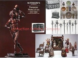 Sothebys NY auction catalog EUROPEAN FURNITURE, ARMS, ARMOR #5641 Novemb... - $16.81