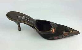 Donald J Pliner Women's Rion Expresso Suede/expresso Antique Metallic Size 6.5 M - $89.09