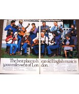 North Carolina 2 Page Color Print Ad The Best Place To Hear Old Country ... - $3.50