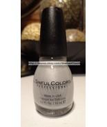 SINFUL COLORS Professional #1179 TANTALIZE Nail Polish/Enamel SILVER SHI... - $3.99