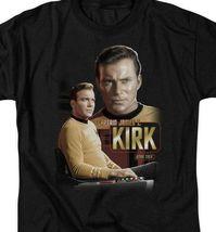 Star Trek Captain James T. Kirk Retro Science Fiction graphic t-shirt CBS572 image 3