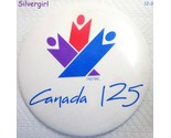 Canada 125th year pinback 2 thumb155 crop