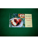 Bon Appetit Light & Easy Desserts Cookbook - $4.00