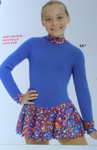 Mondor Model 4413 Polartec Skating Dress SuperKid Size Child 4-6 - $89.00