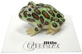 "Little Critterz ""Pacman"" Tree Frog - $17.12"