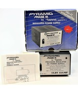 Pyramid Phase III Precision Regulated DC Power Supply Model PS-12 13.8v ... - $79.19