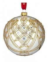 "Waterford Holiday Heirloom 2014 Avoca 5"" Ball Ornament New # 40001053 - $143.55"