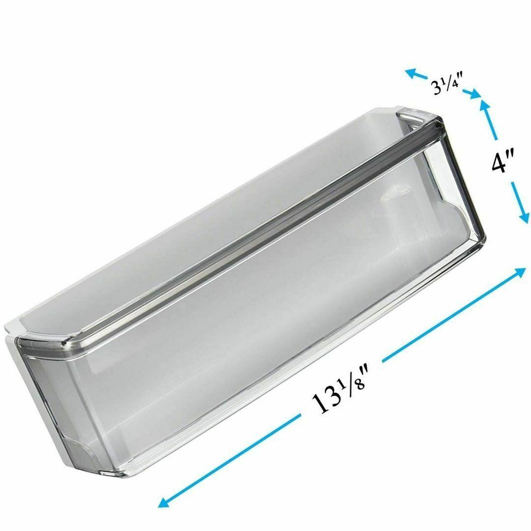 Left Door Shelf Bin AAP73252302 For Kenmore Elite Sears 79572053118 79572043111 - $54.14