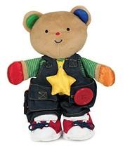Melissa & Doug K's Kids - Teddy Wear Stuffed Bear Educational Toy - $19.94