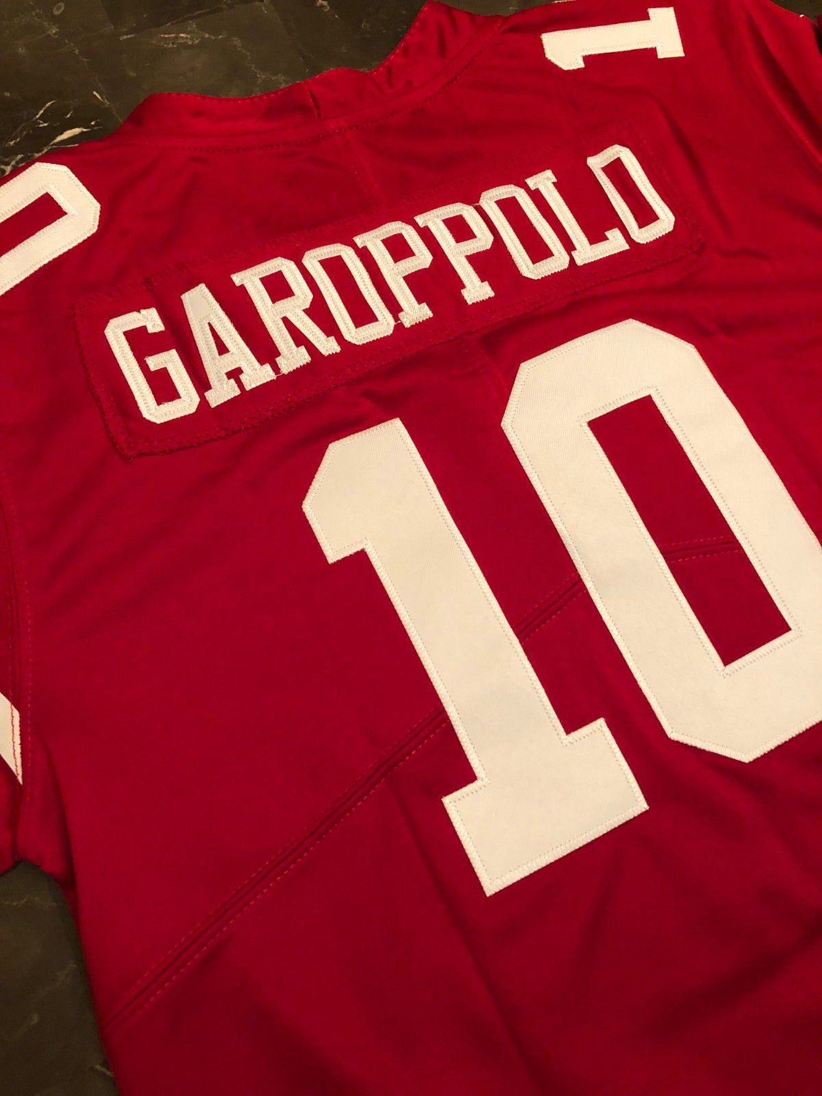 quality design 16608 f6aab Jimmy Garoppolo 49ers Jersey Womens
