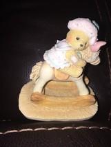 """Cherished Teddies Beth """"Bear Hugs"""" Figurine #950637 - $8.90"""