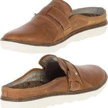 Merrell Mujer Transpirable Around Town sin Cordones Marrón Leather-Shoes - $47.98