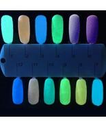 6 Pcs Fluorescent Decor Powder Nail Art Coating Luminous Brightly Noctil... - $6.42