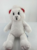 Build a Bear 2016 Ghostbusters White Plush Bear Toy Embroidered Features... - $18.69