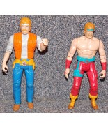 Vintage 1986 Karate Kommandos Chuck Norris Lot of 2 Figures - $21.99