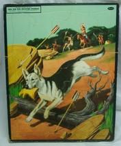 Antique 1956 VINTAGE Walt Disney Rin Tin Tin Whitman FRAME TRAY PUZZLE - $29.70