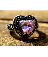 Haunted Pink Angelic light Rays portal ring Arc... - $80.00