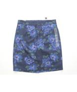 GAP Women's Dark Blue Floral Print Skirt - Size 1 - NWT - $8.99