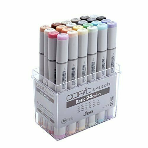 Free Shipping Too Copic Ciao 72 Color Set A for Manga Comic Illustration