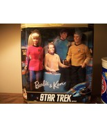 EXCLUSIVE STAR TREK BARBIE & KEN GIFT SET 30th ANNIVERSARY EDITION  DOLL... - $25.00